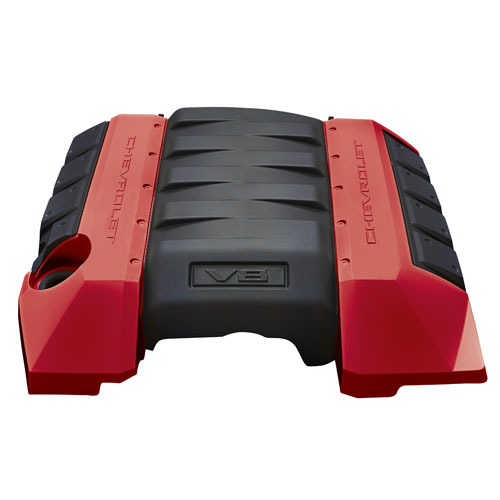 2012 Camaro Engine Cover V8 - Crystal Red (GBE)