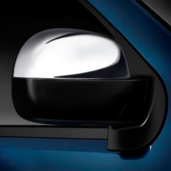 2012 Avalanche Outside Rear View Mirror Cover, Chrome, Set of 2