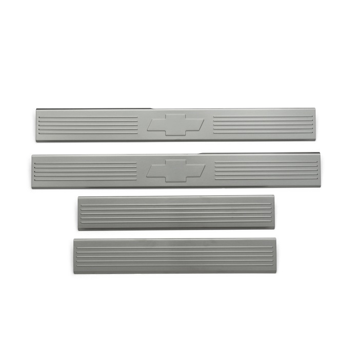 Door Sill Plates or Door Step Shields, Door Sill Plates - Front