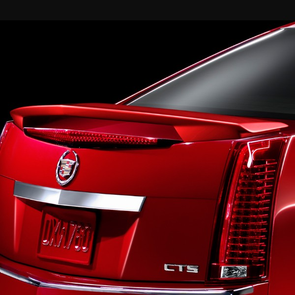 2013 cts sport sedan spoiler kit wing style claret. Black Bedroom Furniture Sets. Home Design Ideas