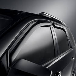 2009 2010 2011 2012 Traverse Side Window Weather Deflector