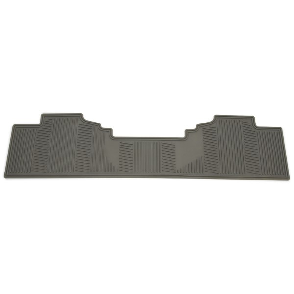 Floor Mat - Second Row 1 Piece, Gray w/o Logo