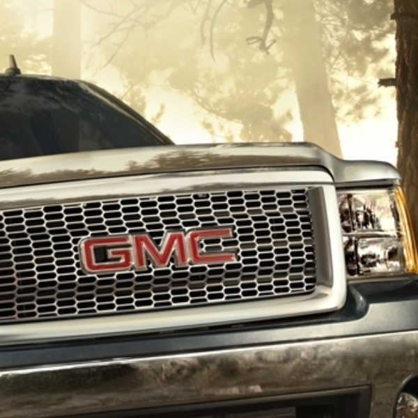 2012 Sierra Molded Hood Protector - Chrome