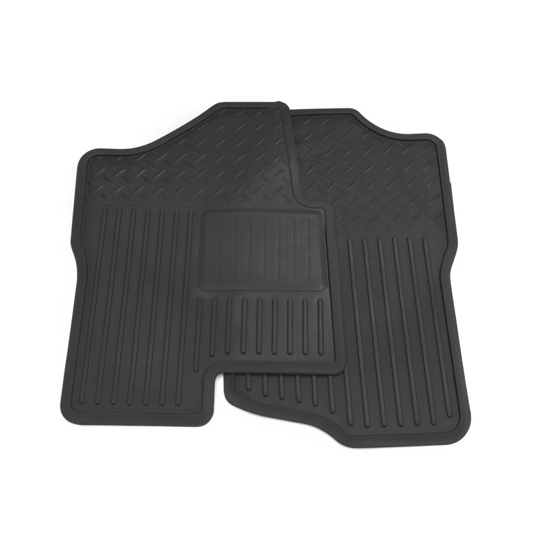 2012 Silverado 3500 Floor Mats - Front Vinyl Replacement, Ebony