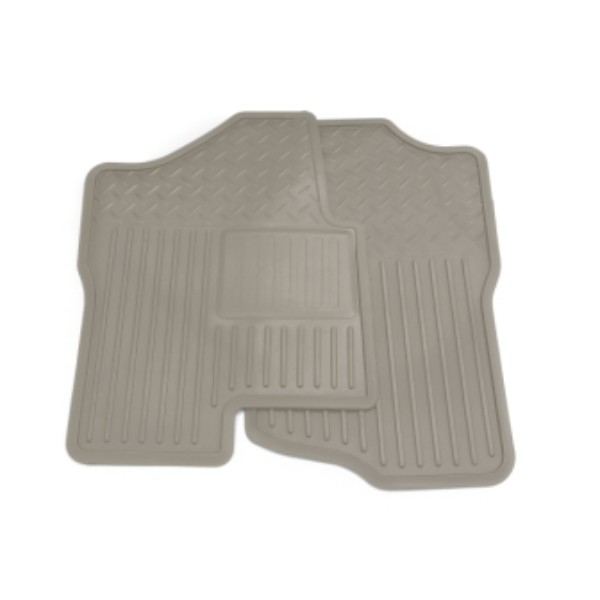 2012 Silverado 3500 Floor Mats - Front Vinyl Replacement, Dark Titaniu