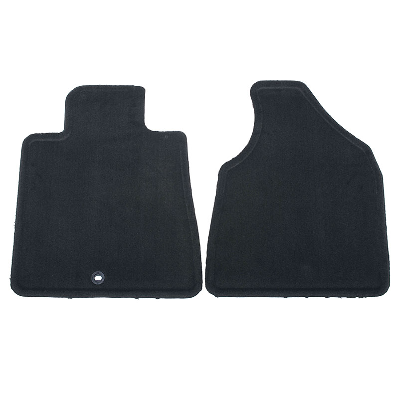 2012 Traverse Floor Mats - Front Carpet Replacements - With Quarter Tu