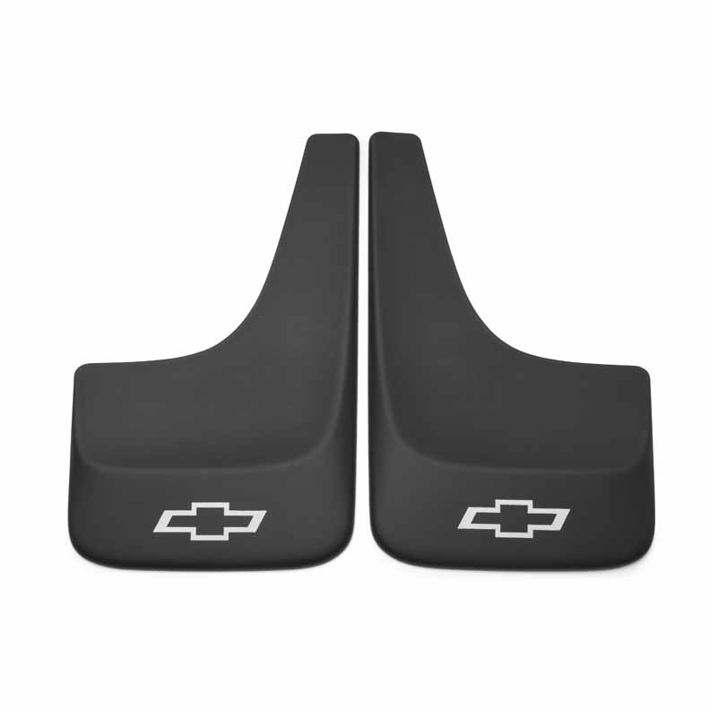 2012 Suburban Splash Guards - Front or Rear Set, Contour, Large w/ Bow