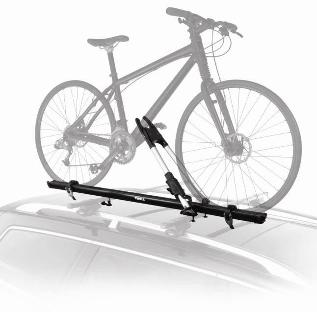 2014 Enclave Roof-Mounted Bicycle Carrier - Wheel Mount