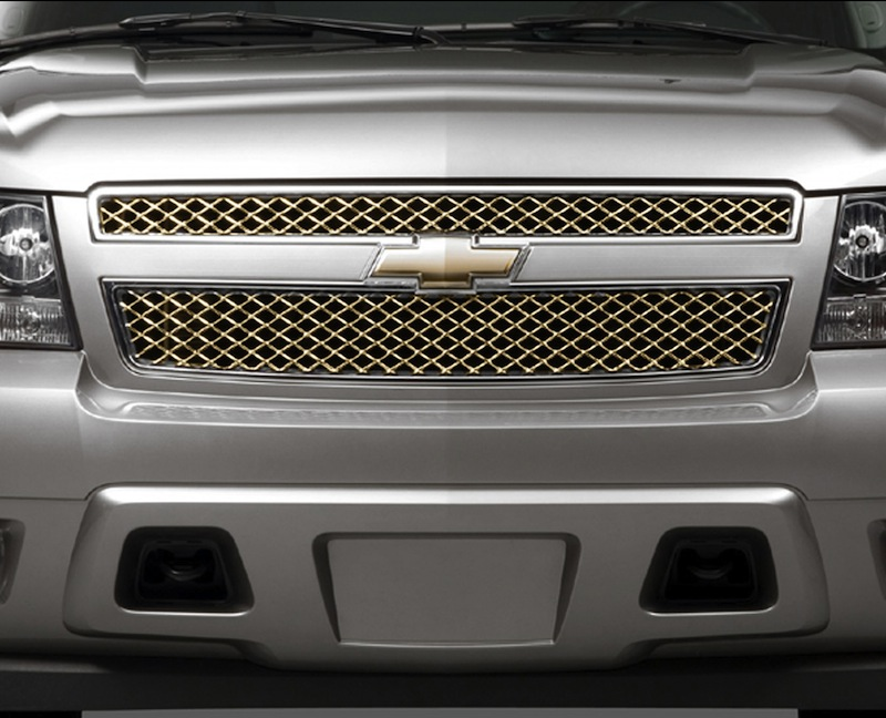 Avalanche / Suburban / Tahoe Grille - Bright Chrome Surround with Anti