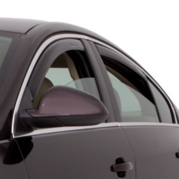 2017 Regal Side Window Deflector, Black