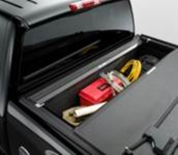 2012 Silverado 1500 Tonneau Cover - Hard Folding with Personal Caddy