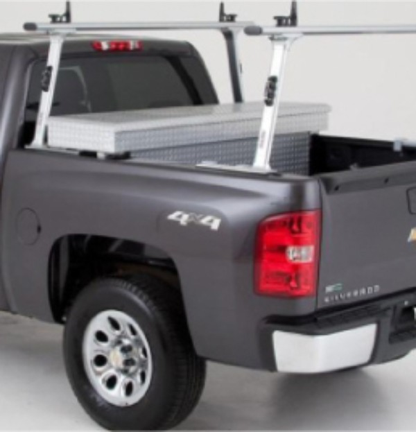 2012 Silverado 3500 Ladder Rack, Single Cross Bar by TracRac