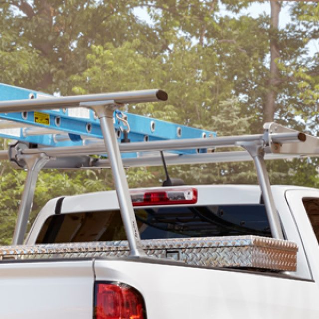 2012 Silverado 3500 Ladder Rack, 2 Cross Bars by TracRac