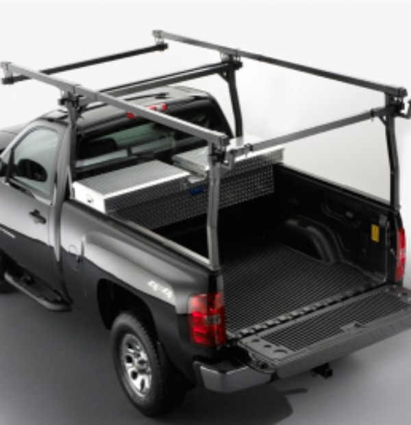 2012 Silverado 3500 Ladder Rack, Full Frame Steel by TracRac