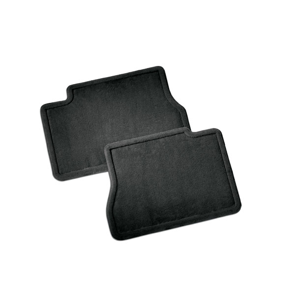 2017 Sierra 2500 Rear Floor Mats, Carpet Replacements, Ebony
