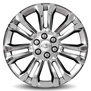 2014 Silverado 1500 22 inch Wheels, Chrome, CK159 SES, SINGLE