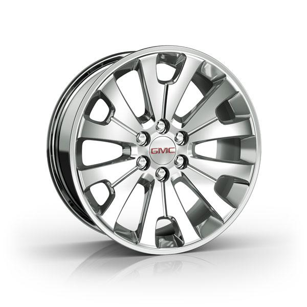2015 Yukon 22 inch Wheels Manoogian Silver CK161 SFO - 19301161 - Wheels - Yukon - 2015 - GMC - by