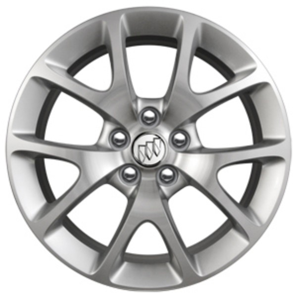 2017 Regal 19 inch Wheel, 5-Split Spoke, Polished Aluminum (5XQ)
