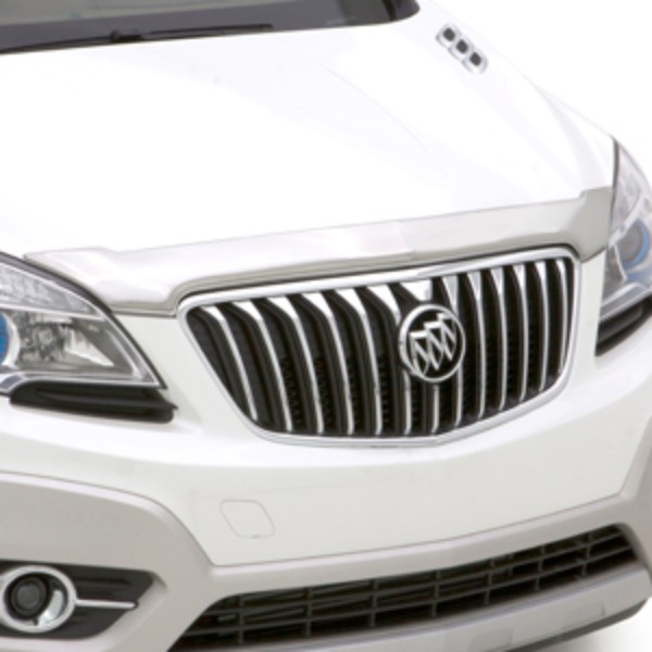 Buick Enclave Accessories 2011: 2015 Encore Molded Hood Protector Chrome