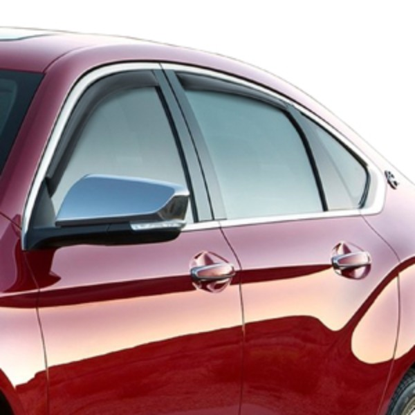 2014 impala side window weather deflectors in channel smoke 19329340 exterior impala 2014 for Exterior window weather protection