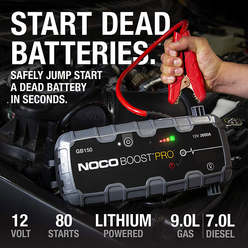 2018 Escalade Battery Jump Starter - GB150