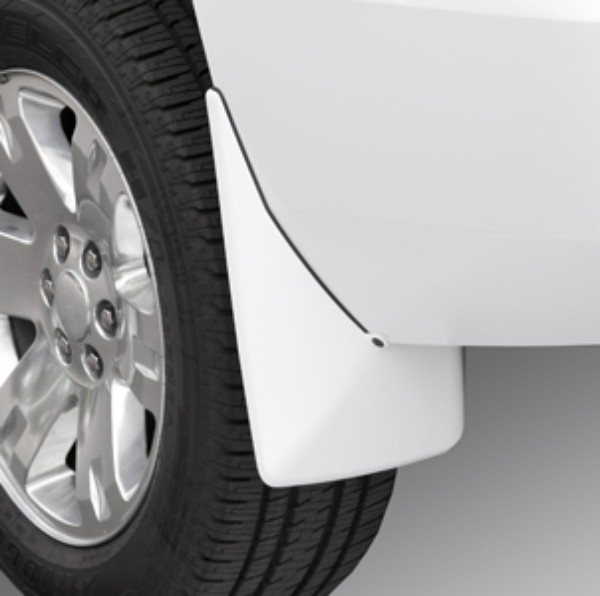 Splash Guards Rear Set 98U White Diamond