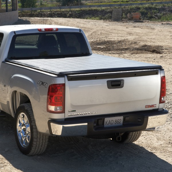 Tonneau Cover - Hard Folding, 8' Long Box, Base High Gloss