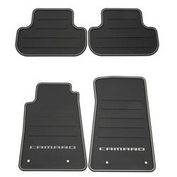 Camaro Floor Mats - Front and Rear Premium All Weather 2010 2011 2012