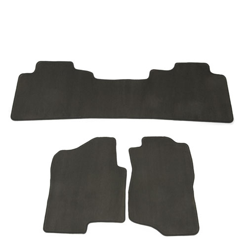 2013 Escalade Floor Mats, Front and Rear Replacement, Platinum Package