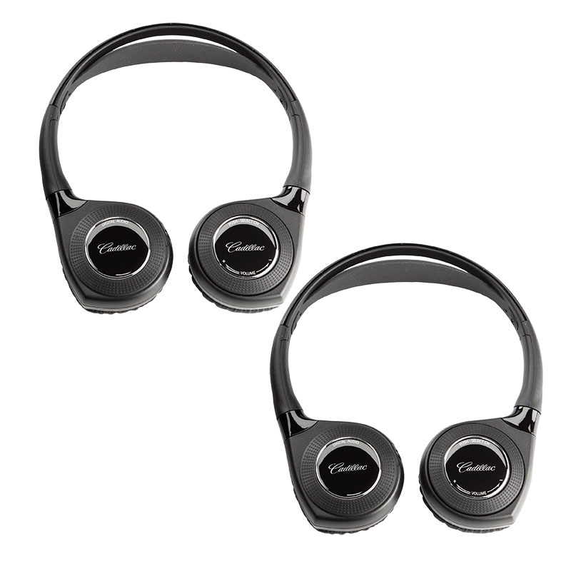 2018 XT5 Dual Channel Infrared Wireless RSE Headphones, Set of Two
