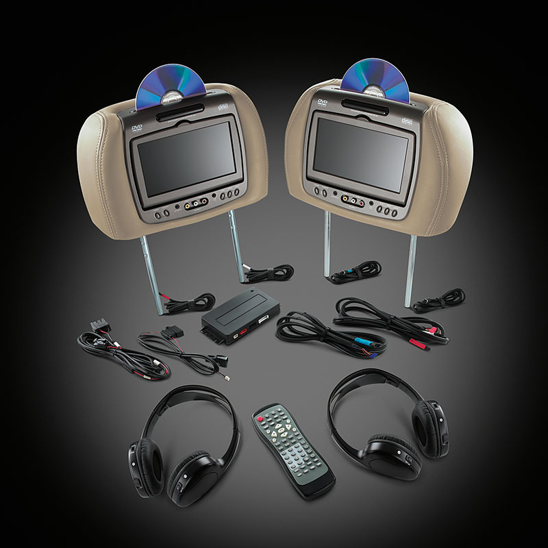 RSE - Headrest DVD - Dual System
