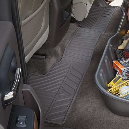2015 Silverado 2500 Front Floor Mats Premium All Weather