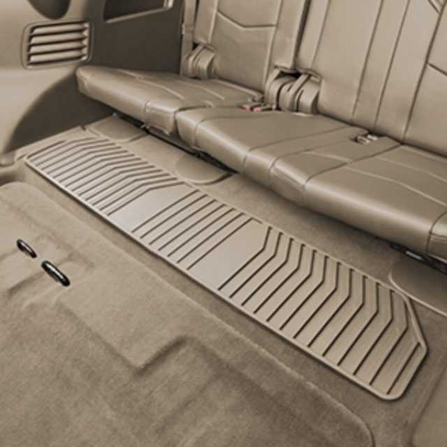2015 Suburban Floor Mats Premium All Weather Third Row