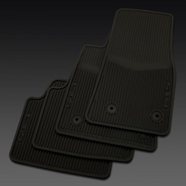 2014 CTS Sedan Floor Mats Front & Rear Premium All Weather