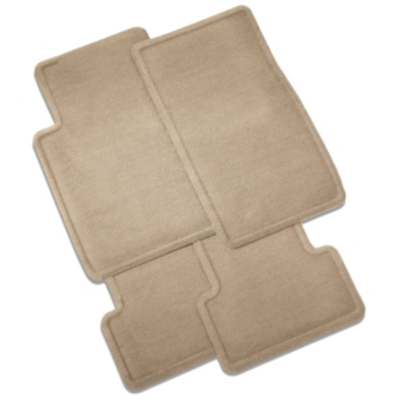 2013 CTS Coupe Floor Mats, Front & Rear Carpet Replacements, Cashmere