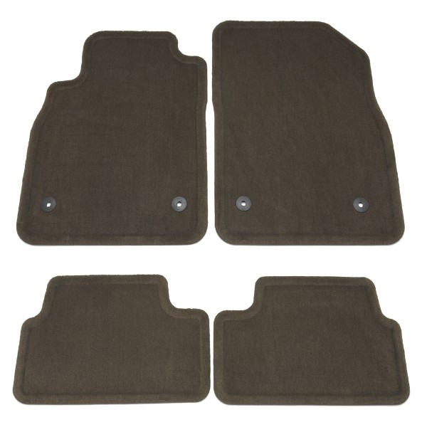 2012 Cruze Floor Mats, Front/Rear Carpet Replacements, Cocoa