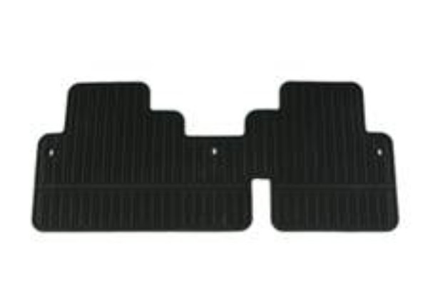 Enclave Floor Mats - Rear Premium All Weather, 2nd Row Split Bench
