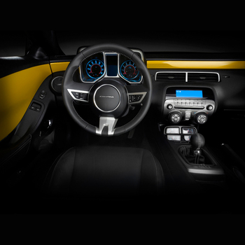 2011 Camaro Interior Trim Kit - Rally Yellow (GCO)