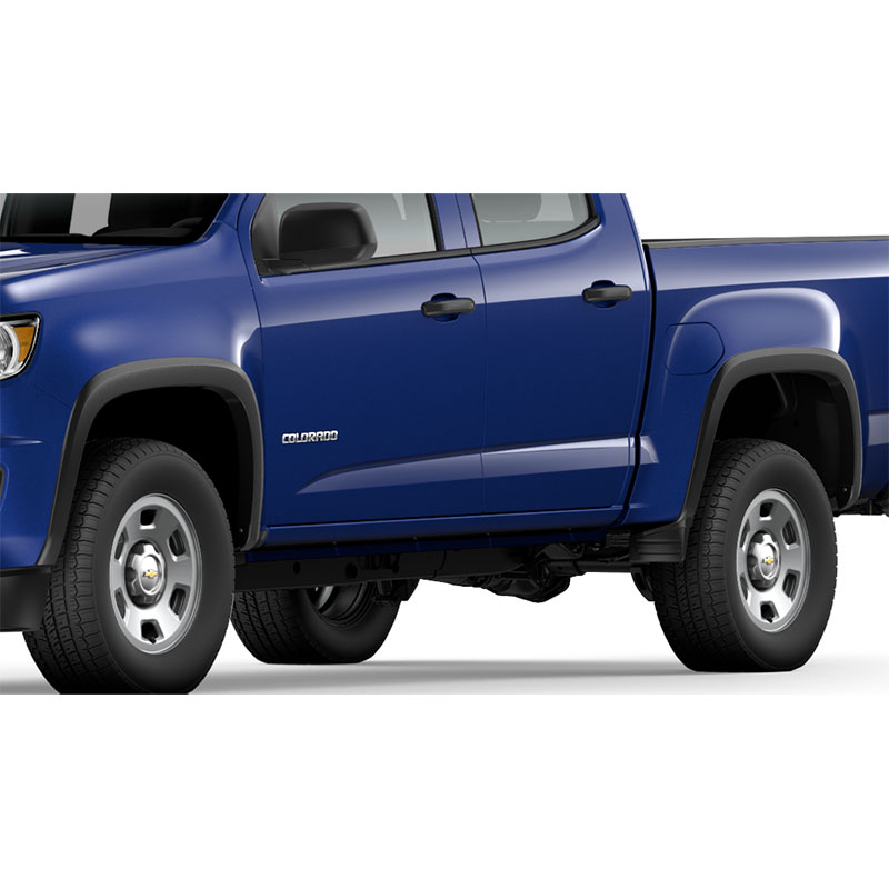 2015 Chevrolet Colorado Extended Cab Transmission: 2015 Colorado Fender Flares Front And Rear Crew And