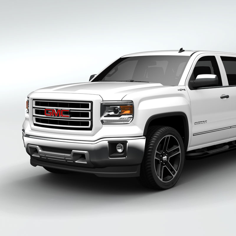 2014 Sierra 1500 Grille Summit White