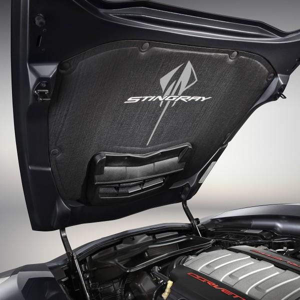 2014 Corvette Stingray Underhood Liner Stingray Logo - 23489883 - Exterior - Corvette Stingray ...