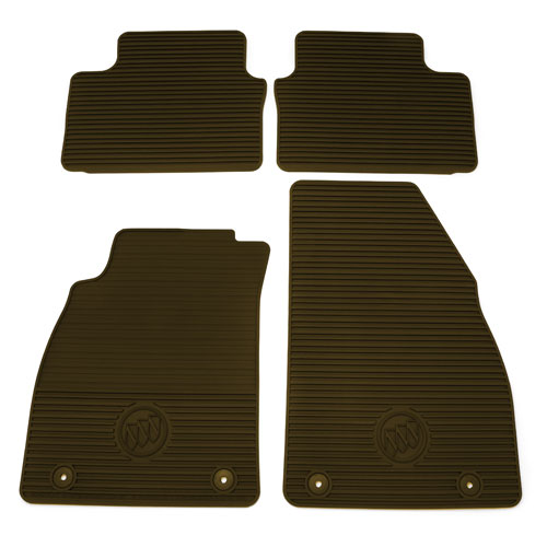 2017 Regal Floor Mats - Front and Rear Premium All-Weather, Coco