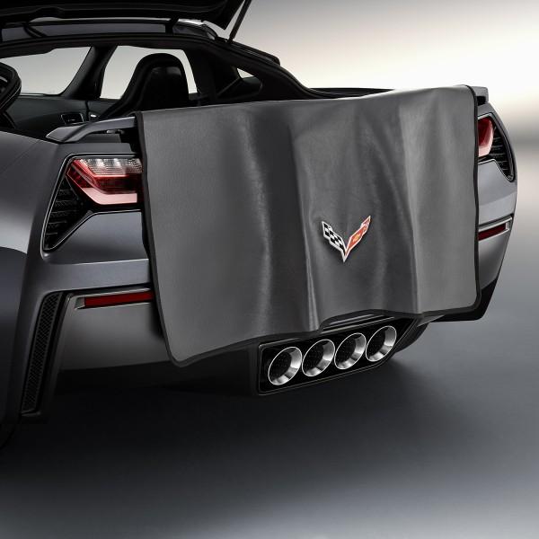 2014 corvette stingray rear bumper fascia protector 23124544 exterior corvette stingray 2014