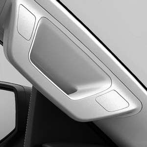 2014 Silverado 1500 Assist Handle Package, Light Gray