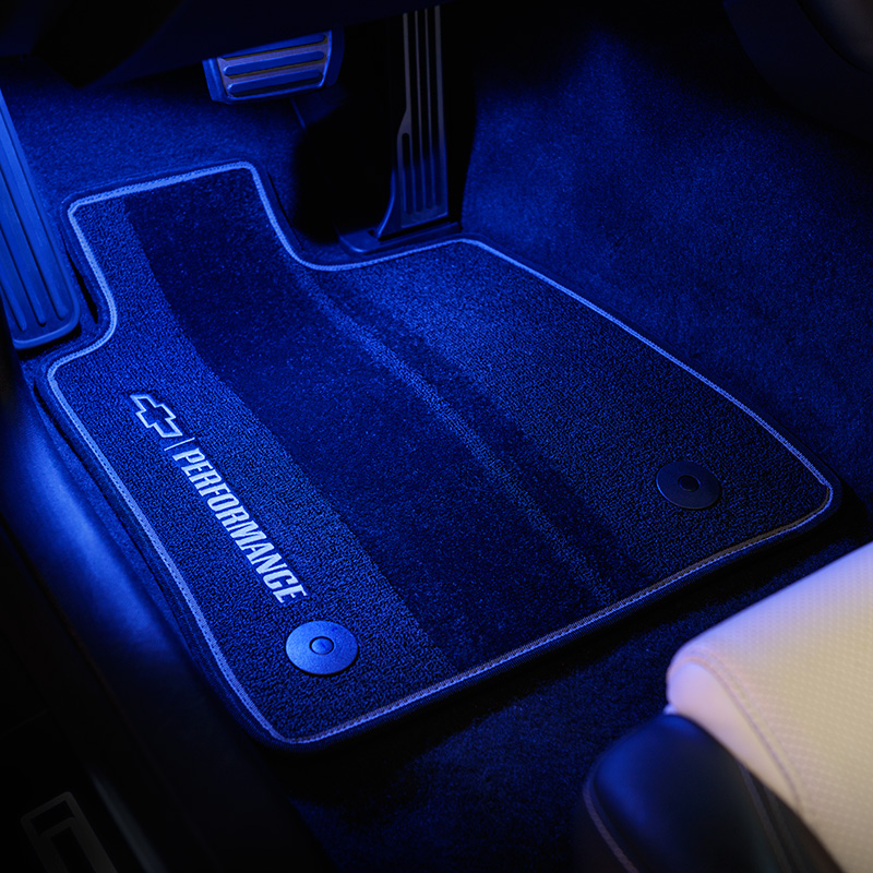 2016 Camaro Interior Footwell Lighting