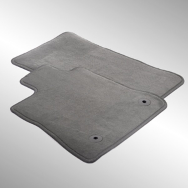 2016 Camaro Front & Rear Carpet Replacement Floor Mats, Gray