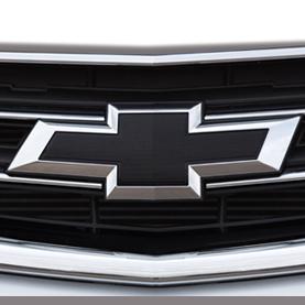 2015 impala front grille and decklid emblems bowtie black