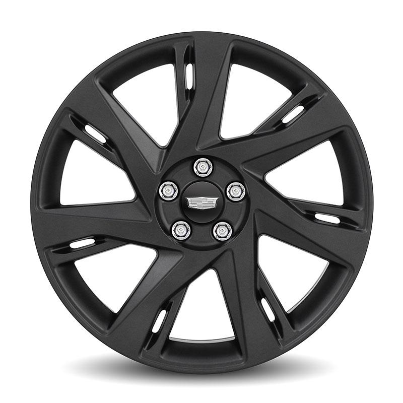 2016 Elr 20 Inch Wheel 7 Spoke Black Painted Aluminum