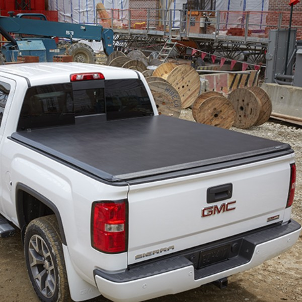 2015 sierra 1500 tonneau cover soft folding high gloss - 2015 gmc sierra interior accessories ...