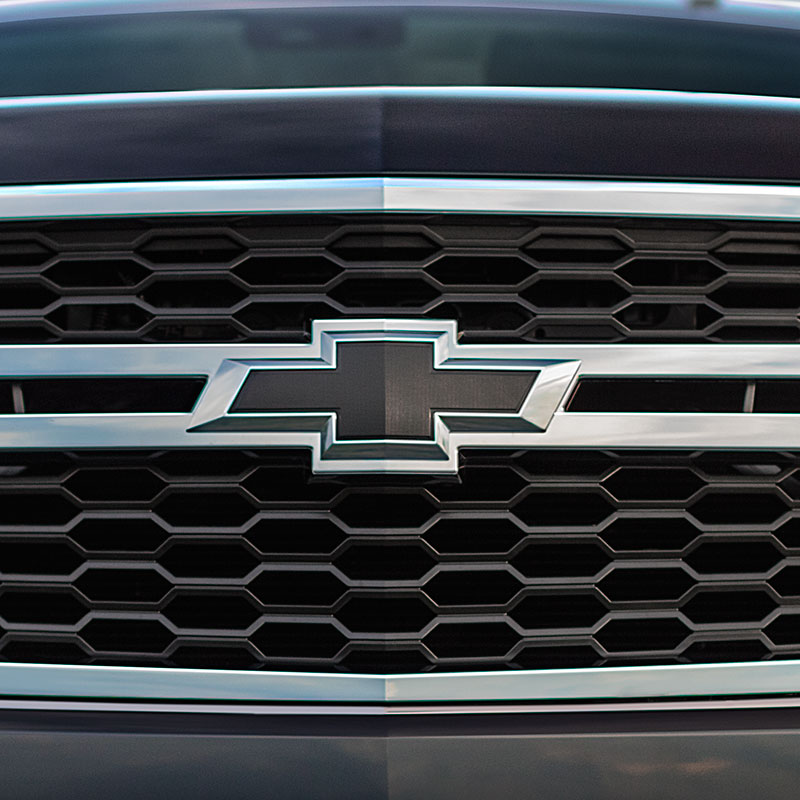 2015 Suburban Black Bowties, Front Grille and Liftgate Emblems